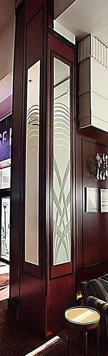 Miroir en l tat hauteur 400 cm largeur 36 cm mati re for Miroir hauteur 200