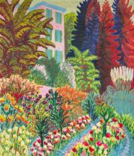 Paul Camenisch (1893–1970) Garten der Villa Loverciana, Castel San Pietro