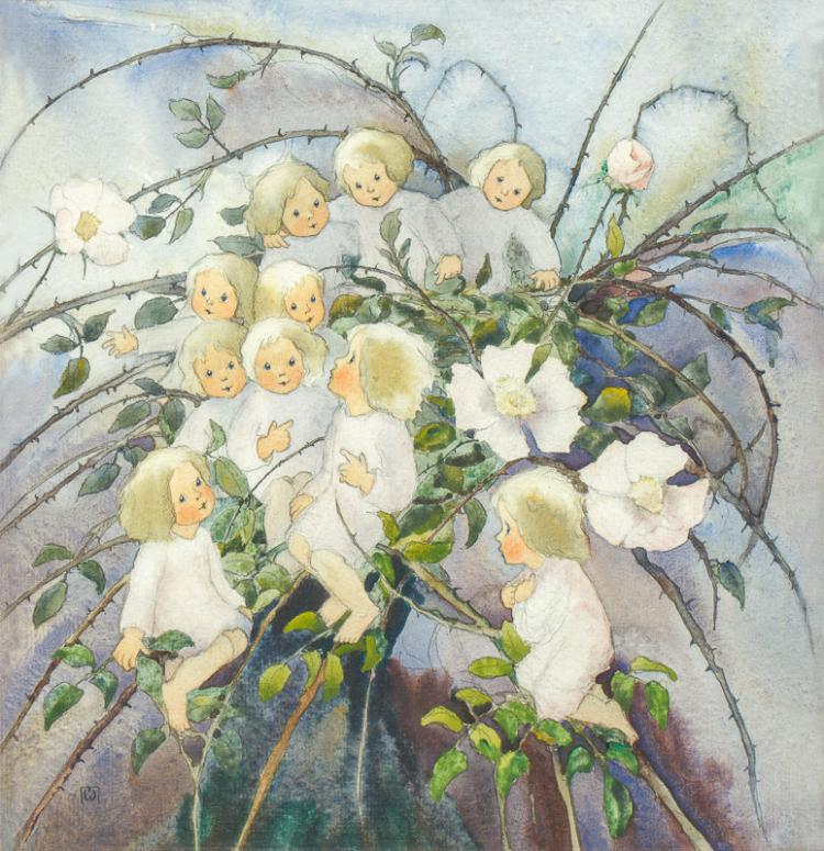 Mili Weber (1891–1978)  Dornröselein
