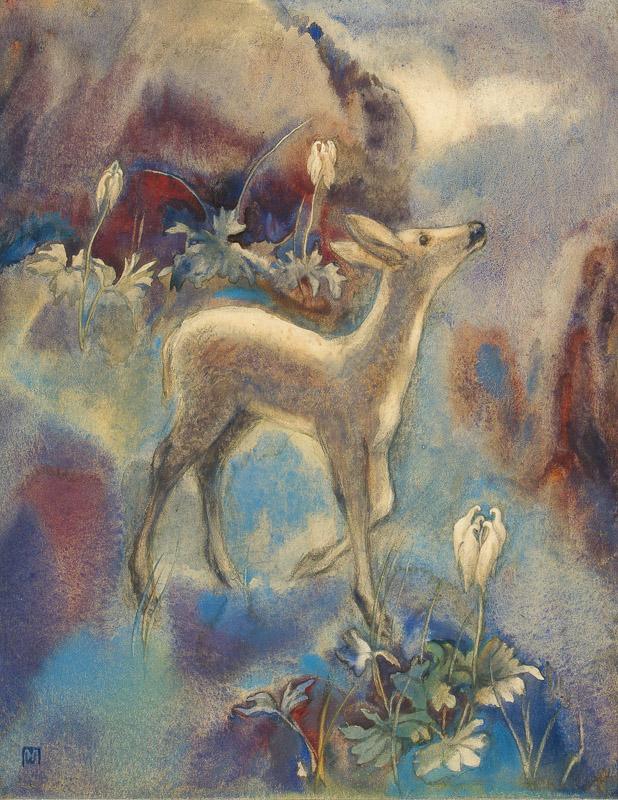 Mili Weber (1891–1978)  's Rehli Fin i der Mondnacht