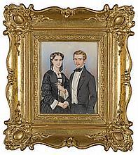 Portrait eines Paares, 1854