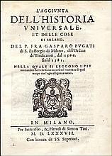 [Universal History, Milan] Bugati, 1587
