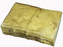 [Cicero, Aldine] Cicero, Ad Atticum, 1564