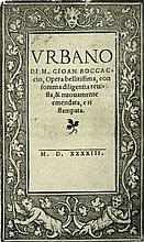 [Medieval Novel] Boccaccio, Urbano, 1543