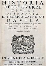 [History, French Wars] Davila, 1664