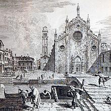 Marieschi, Campo dei Frari, 1741
