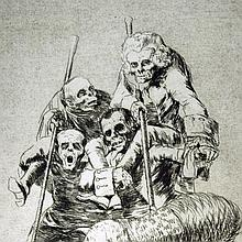 Goya, Unos á otros