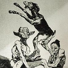 Goya, Aguarda que te unten