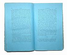 [Philosophy] Bergier, Materialisme 1838, printed in blue and green