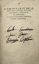 [Turkey, Turkish war] Giovio Turchi, circa 1535