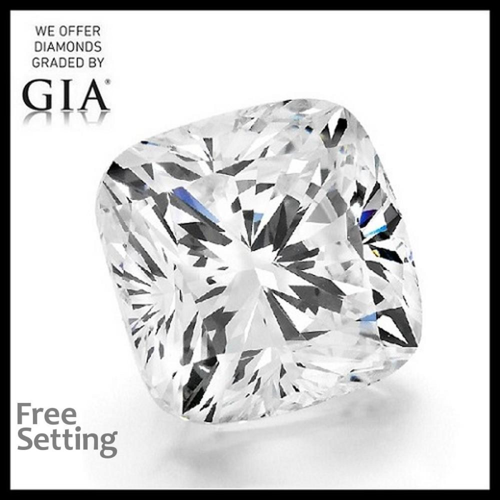 4.01 ct, H/VS1, Cushion cut Diamond, 56% off Rapaport List Price (GIA Graded), Unmounted. Appraised Value: $288,700