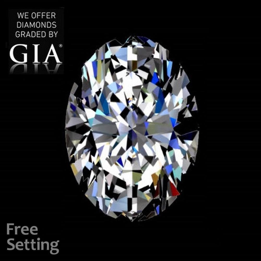 5.07 ct, D/VS2, Oval cut Diamond, 58% off Rapaport List Price (GIA Graded), Unmounted. Appraised Value: $953,100