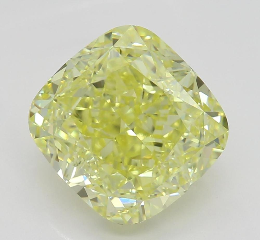 2.50 ct, Natural Fancy Yellow Even Color, VS1, Cushion cut Diamond (GIA Graded), Unmounted, Appraised Value: $35,300
