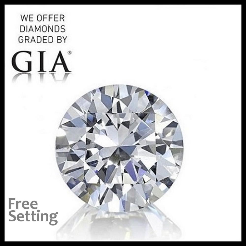 2.07 ct, F/VVS2, Round cut Diamond, 56% off Rapaport List Price (GIA Graded), Unmounted. Appraised Value: $139,700