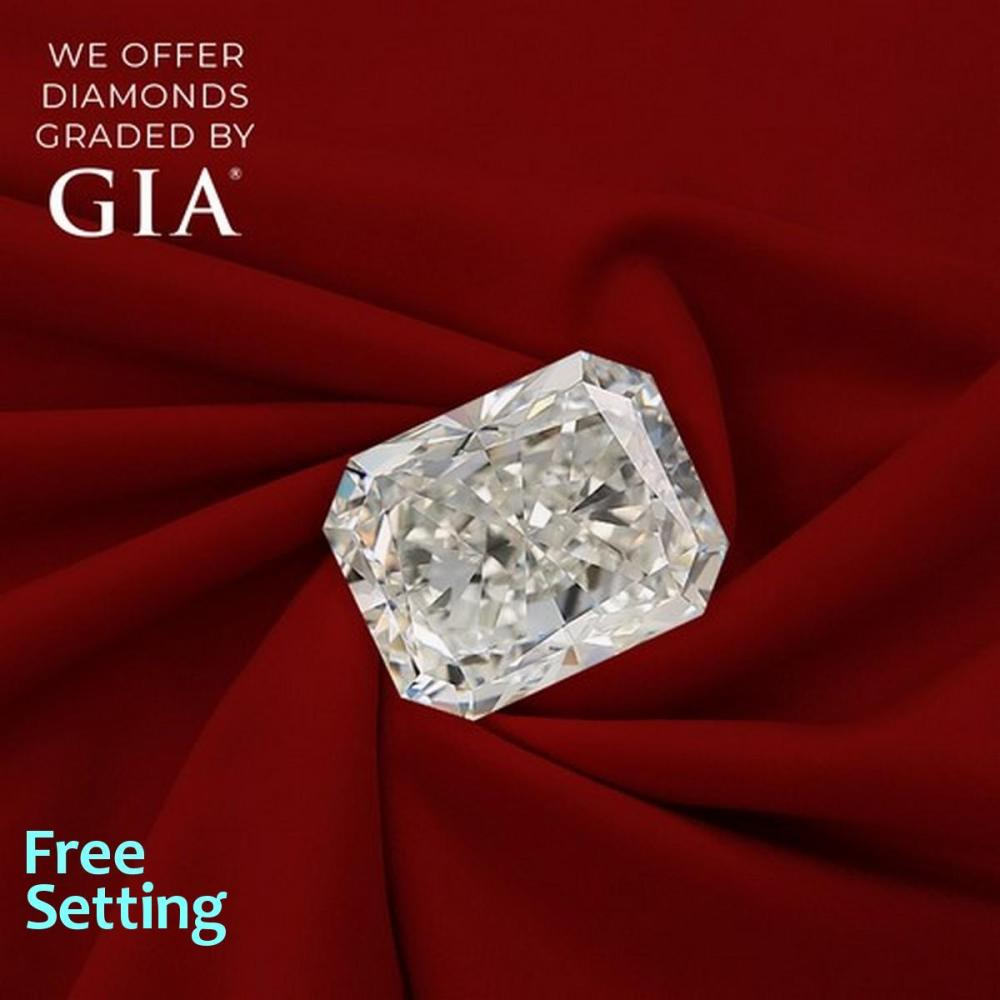 1.02 ct, H/VVS1, Radiant cut Diamond, 50% off Rapaport List Price (GIA Graded), Unmounted. Appraised Value: $12,200