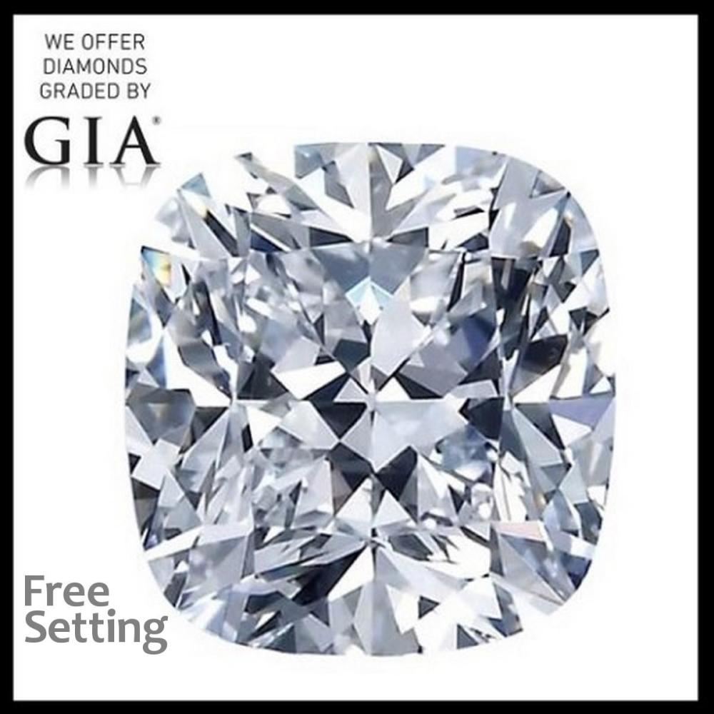 2.01 ct, G/VVS2, Cushion cut Diamond, 51% off Rapaport List Price (GIA Graded), Unmounted. Appraised Value: $67,800