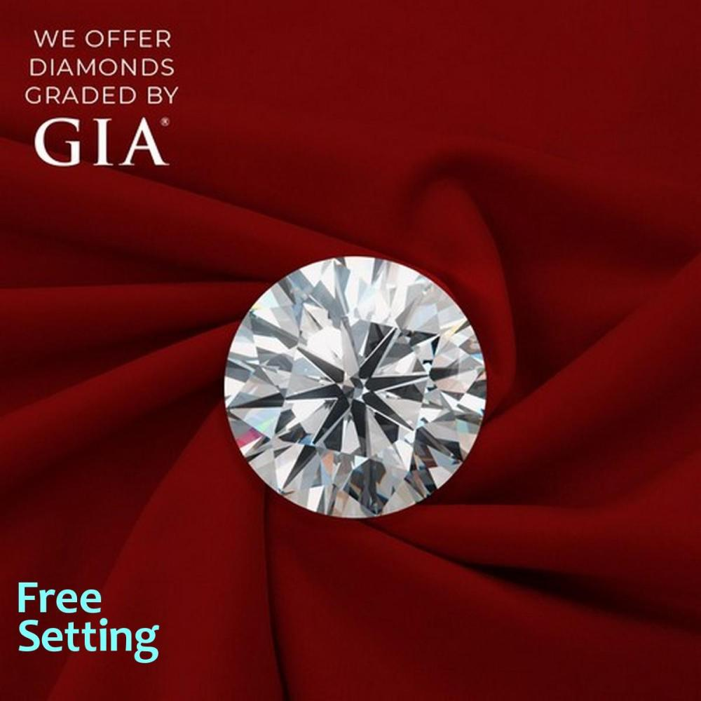 1.50 ct, H/VVS1, Round cut Diamond, 57% off Rapaport List Price (GIA Graded), Unmounted. Appraised Value: $42,000
