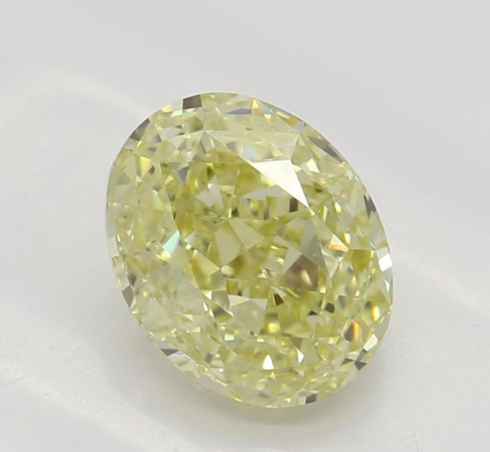 1.02 ct, Natural Fancy Yellow Even Color, VS1, Oval cut Diamond (GIA Graded), Unmounted, Appraised Value: $10,300