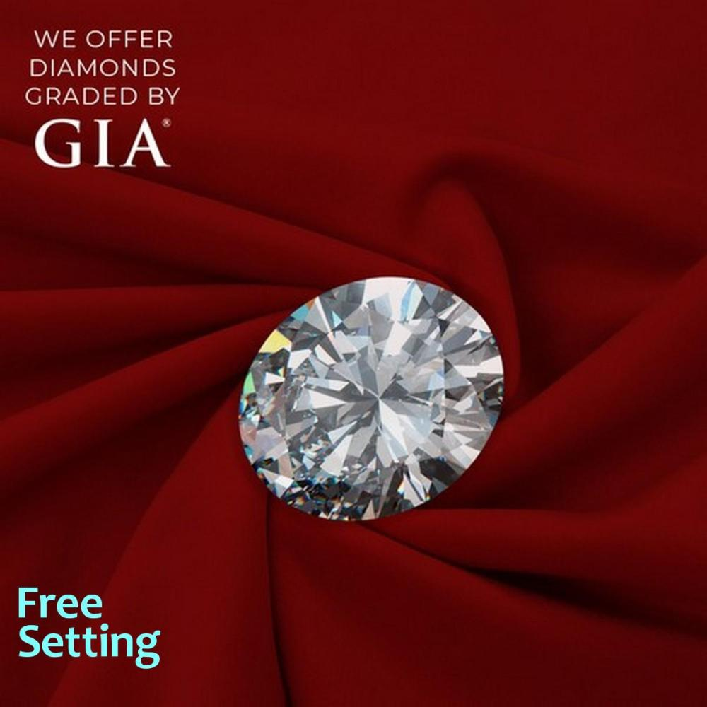 1.74 ct, D/IF, Oval cut Diamond, 56% off Rapaport List Price (GIA Graded), Unmounted. Appraised Value: $73,900