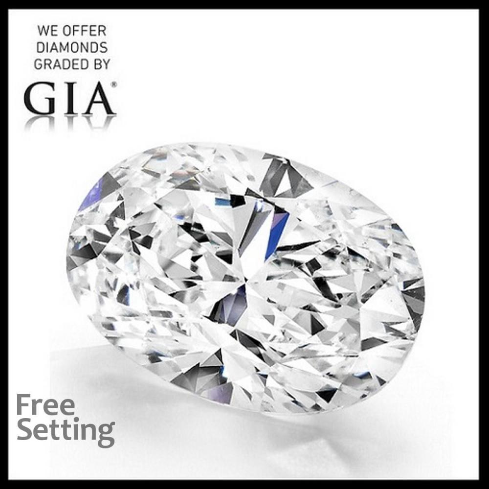 4.51 ct, I/VS1, Oval cut Diamond, 26% off Rapaport List Price (GIA Graded), Unmounted. Appraised Value: $202,900