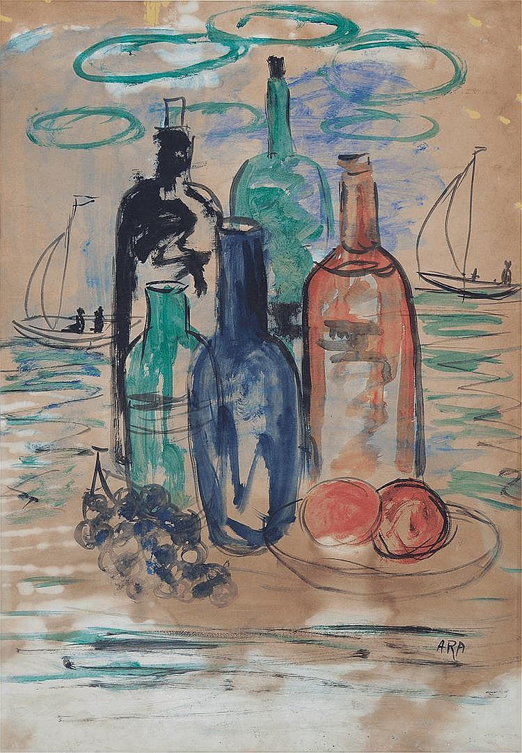 Krishnaji Howlaji Ara (1914-1985), Untitled (Still Life)
