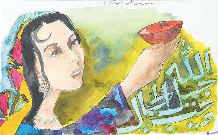 Maqbool Fida Husain (1915-2011), Untitled