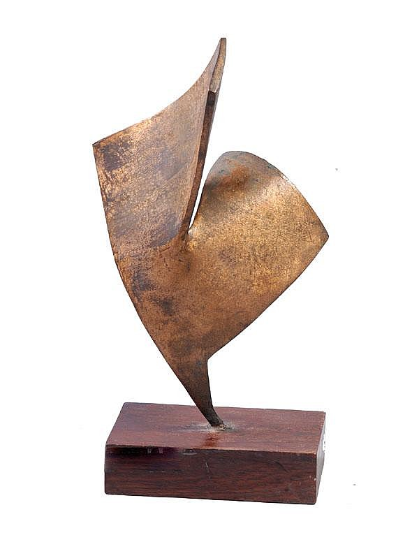 SANKHO CHAUDHURI (1916 - 2006) Untitled Bronze