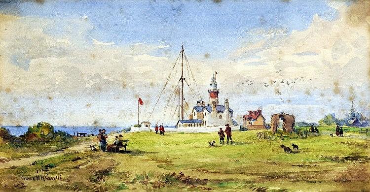 CONRAD H. R. CORELLI (1869 - 1950/6) Framed,