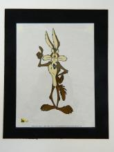 Lot 14: Warner Bros. Looney Tunes Wile E Coyote II Sericel