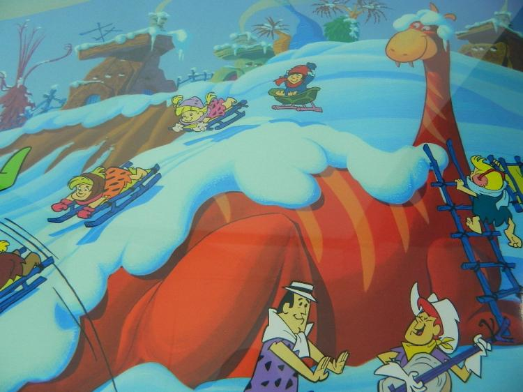 Lot 16: Bedrock Winter Wonderland 2004 Seriolithograph