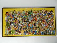 Lot 17: 20thCentury Fox,Where's Bart? 2000 Seriolithograph