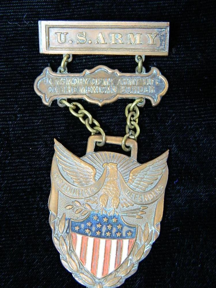 U.S Army Spanish American War Medal