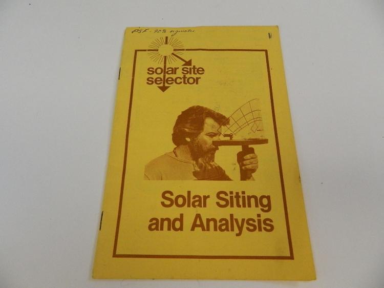 Lot 36: Lewis & Associates Solar Siting and Analysis Set