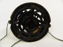 Lot 38: Antique Black Cast Iron Yarn Cage Dispenser