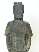 "Lot 53: 19.25"" Terracota Warrior- Emperor Sword General"
