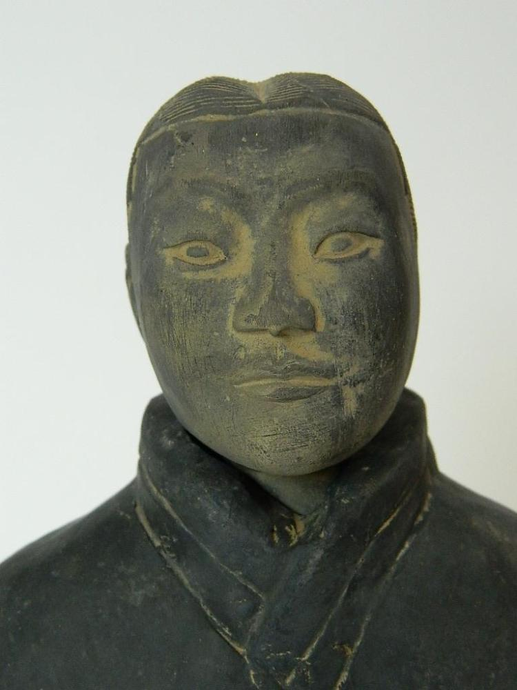 Lot 57: Authentic Chinese Terracotta Emperor Army Soldier