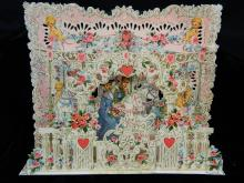 Lot 75: 3 Antique Valentine Cards - American Greetings
