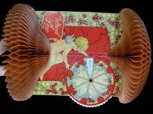 Lot 77: Expanding Valentines Day Card with Moving Wheel