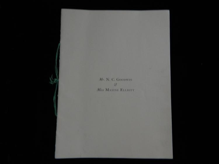 Portfolio of Nathaniel Carl Goodwin Maxine Elliott