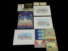 Lot 83: 1933 Chicago World's Fair Souvenirs and Passes