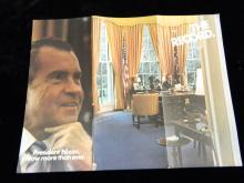 Lot 85: 8 Brochures and 3 Bumper stickers Nixon/McGovern