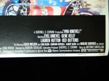 Lot 93: Viva Knievel Movie Poster w/ Evil Knievel