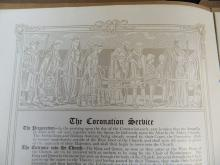Lot 109: Program from the Coronation of George, V.