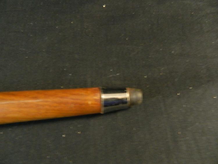 Lot 113: New Zealand Wooden/Brass Kiwi Bird Cane