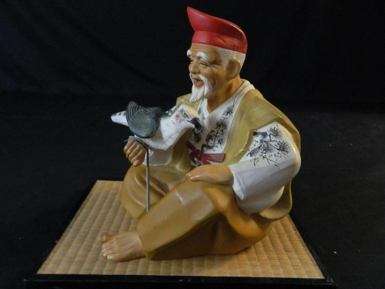 Lot 117: Hakata Mimasu Dolly Figure & Tray