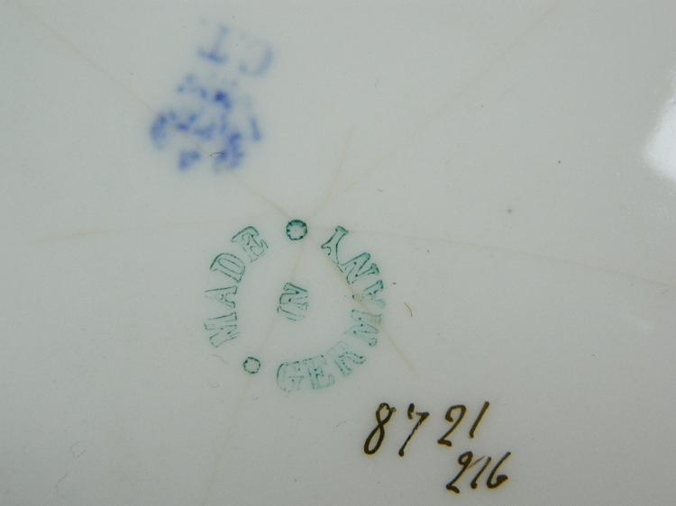 Lot 119: Antique C.T. Germany Altwasser Plate