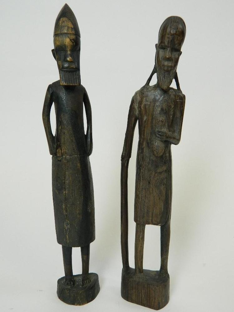 Lot 121: Pair of African Wooden tribe Sculpture/Carving