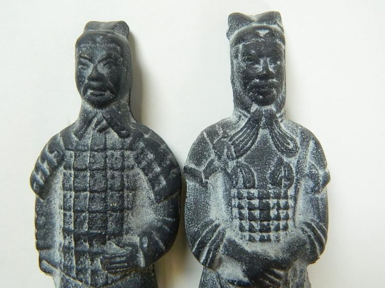 Lot 131: Pair of Lead Replicas of the Chinese Standing Army