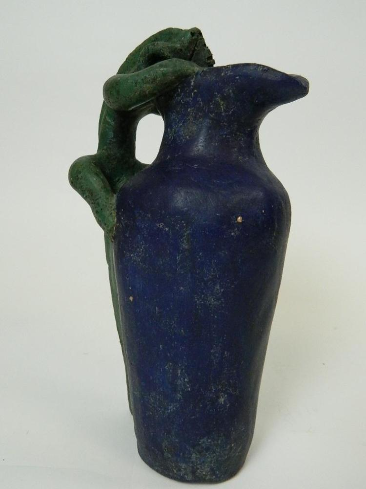 """Lot 135: 12"""" Lizard Pitcher from Mexico"""