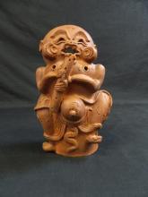 Lot 169: Japanese Terracotta Incense Burner